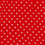 Rot mit kleinen Punkten